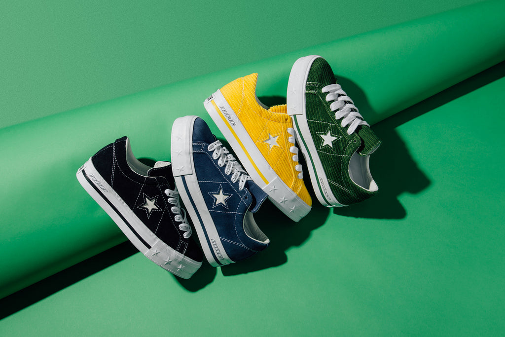 converse lifestyle one star platform ox
