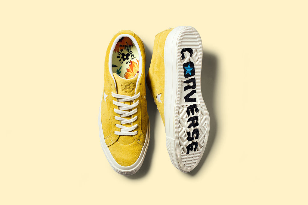 9da1f7c71110c7 tyler the creator x converse one star yellow