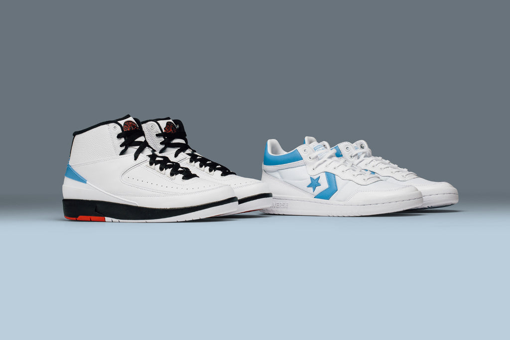 aefc0c63ea1f5c ... x CONVERSE PACK ALUMNI 北卡大UNC 榮耀 Inspired by Jordans love for playing  basketball