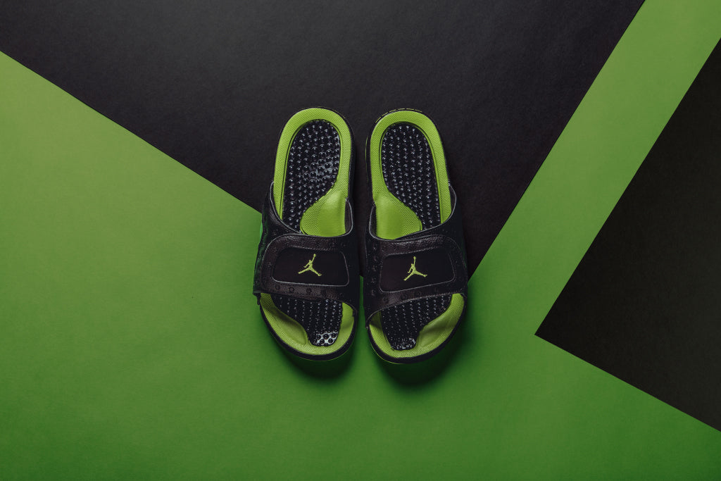 Jordan Hydro XIII Retro Slide Available Now – Feature Sneaker Boutique dd8552cdc