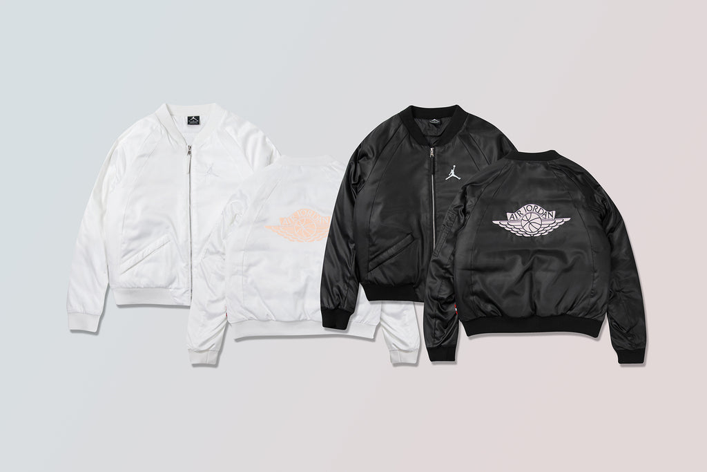 mecanógrafo suspicaz ancla  Jordan Sportswear Women's 'Wings' MA-1 Jacket Available Now – Feature
