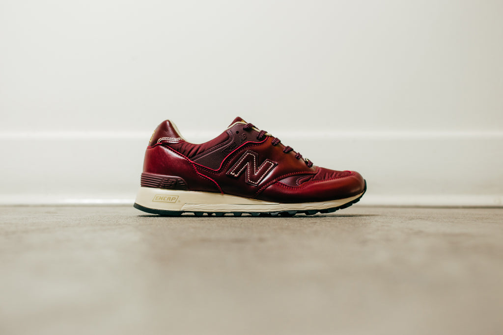 New Balance Men's 577 'Test Match Leather' in Plum Available