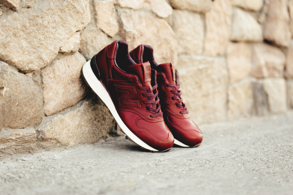 new arrival c07b4 1502f New Balance 'Bespoke Crooners' Horween Leather Collection ...