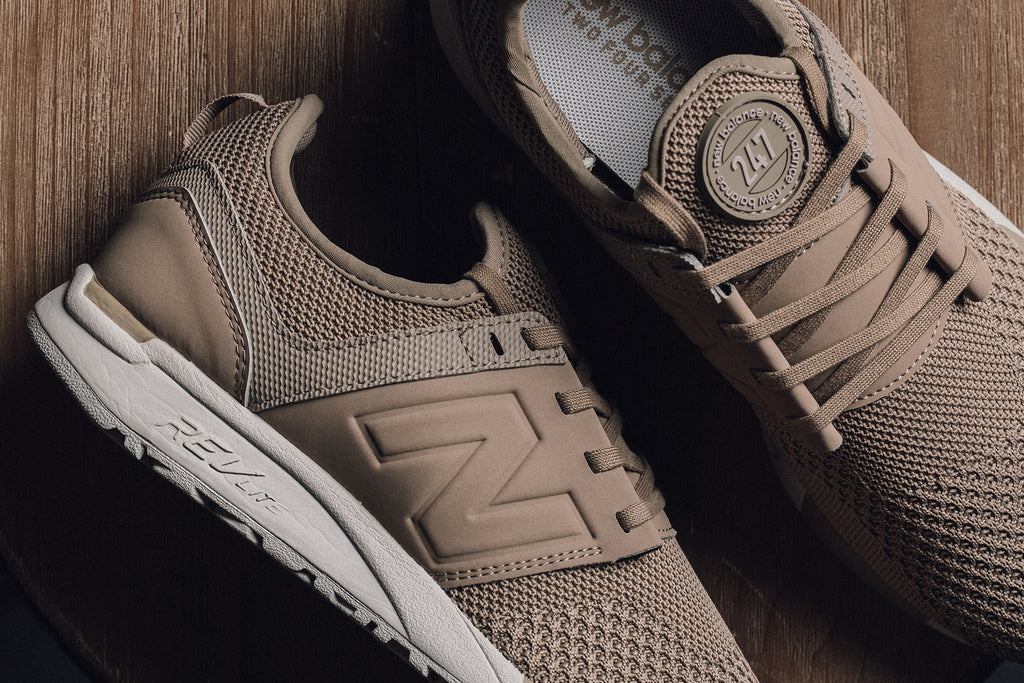 New Balance 247 'Winter Knit' Taupe/Black Available Now – Feature