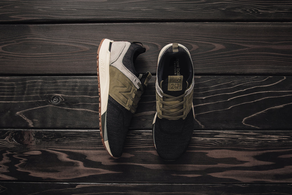 new balance 247 luxe knit brown