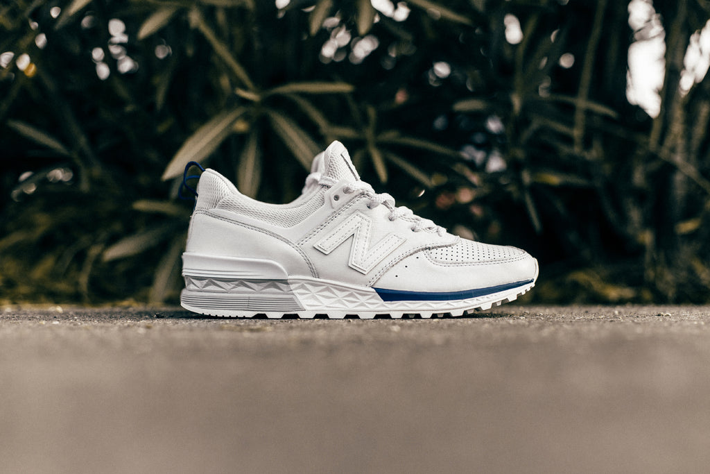ff542e45b942c5 New Balance's sleek 574 Sport ($120) silhouette makes a return this season  with a new two-tone look. The 574 Sport features a minimalist profile with  ...
