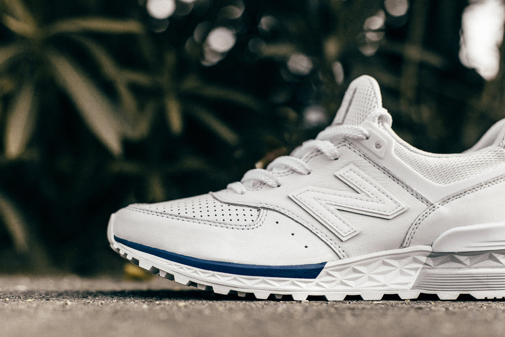 the latest 80cf7 8b1d0 White New Balance 574 Sport – Feature