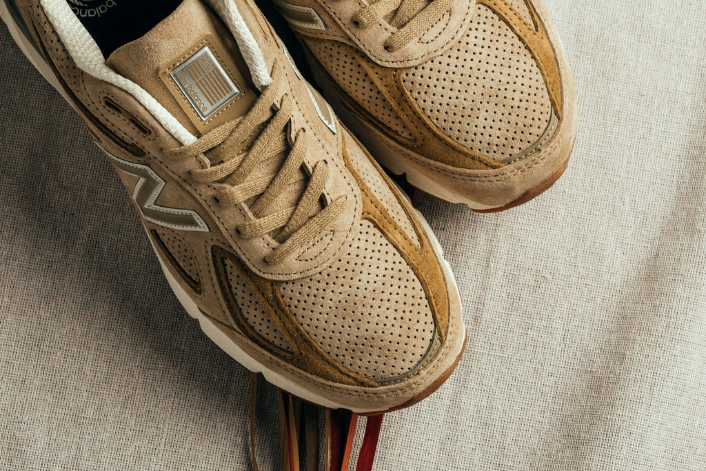 newest 00af5 f04d4 Tan New Balance 990v4 Made in the USA – Feature