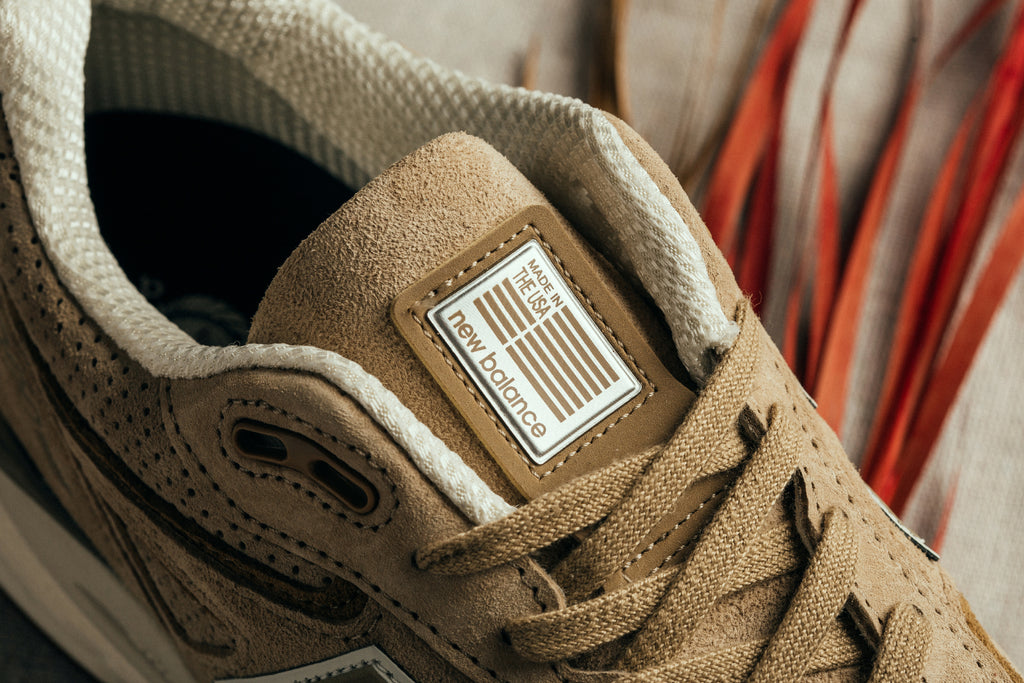 newest 8259c 7eaa5 Tan New Balance 990v4 Made in the USA – Feature