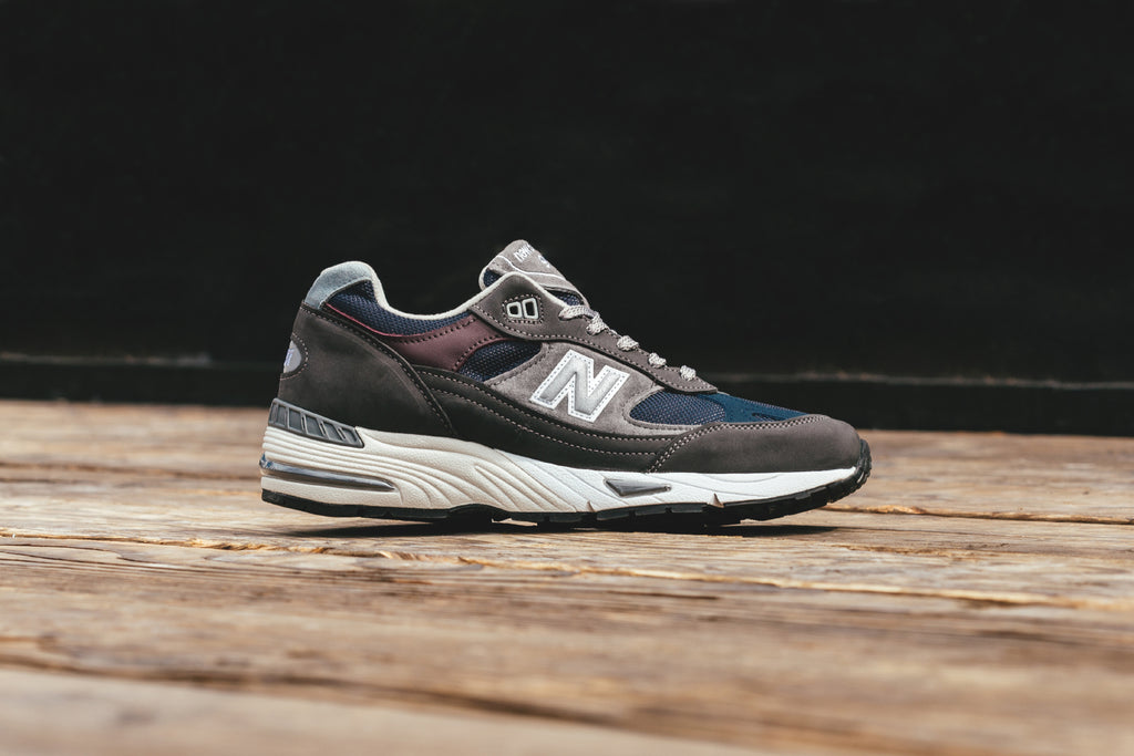 eb0a14907466 ... real new balance presents a fall inspired rendition of their 991  silhouette 180. this uk