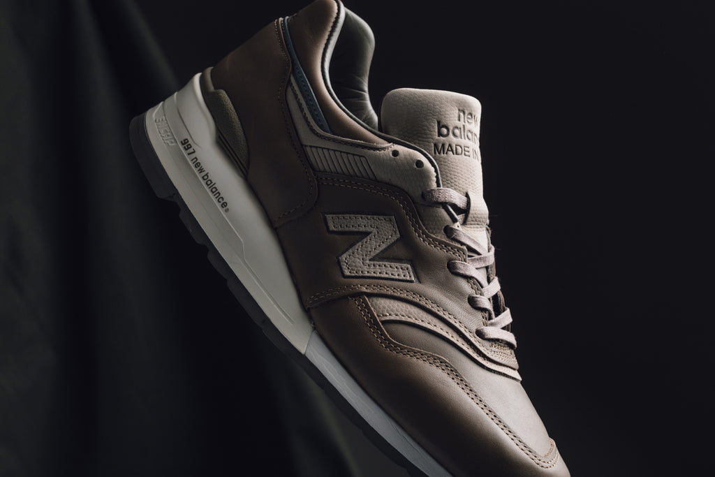 New Balance and Horween Leather Company team up once again for an updated  take on the 997 silhouette ( 340). The latest rendition of the retro runner  sports ... bfc58ad6f423