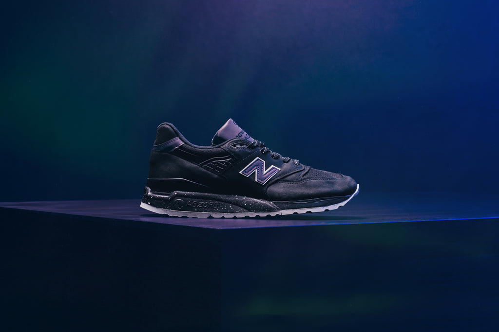 detailed look ffafa 951d1 New Balance 998 Made in the USA 'Northern Lights' Available Now