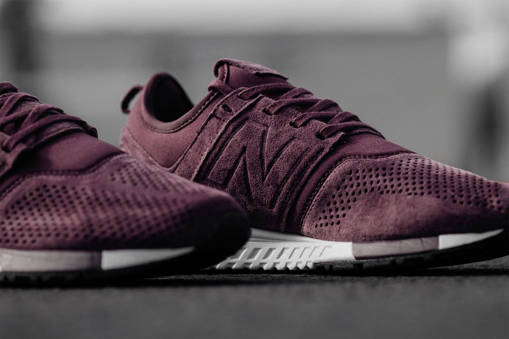 New Balance 247LR In Burgundy/White Available Now – Feature