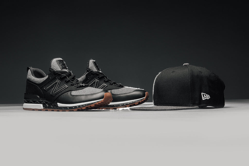 New Balance teams up with New Era for a minimalistic capsule. The two  brands come together on the newly introduced 574 Sport silhouette and the  classic ... 316e20d7201
