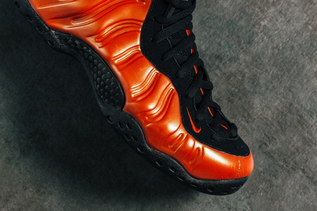 new product 14c6f edec3 Red & Black Nike Air Foamposite One – Feature