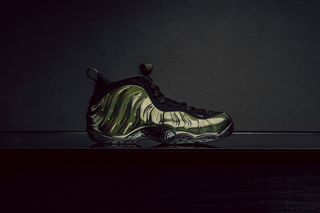 half off 7b577 ee9ec ... discount for fall nike presents an iridescent variation to their foamposite  one 230. this time