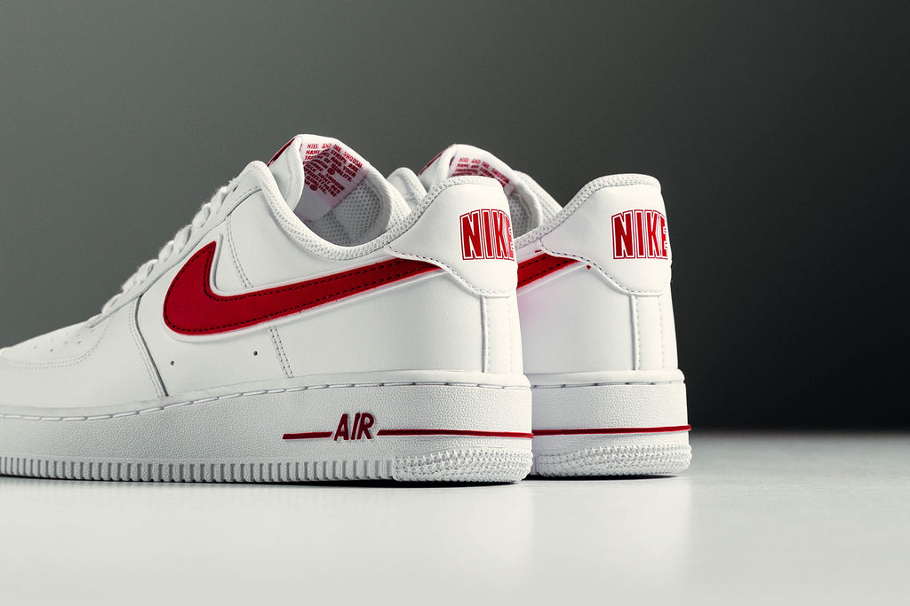 Nike Footwear Air Force 1 07 3 White Gym Red