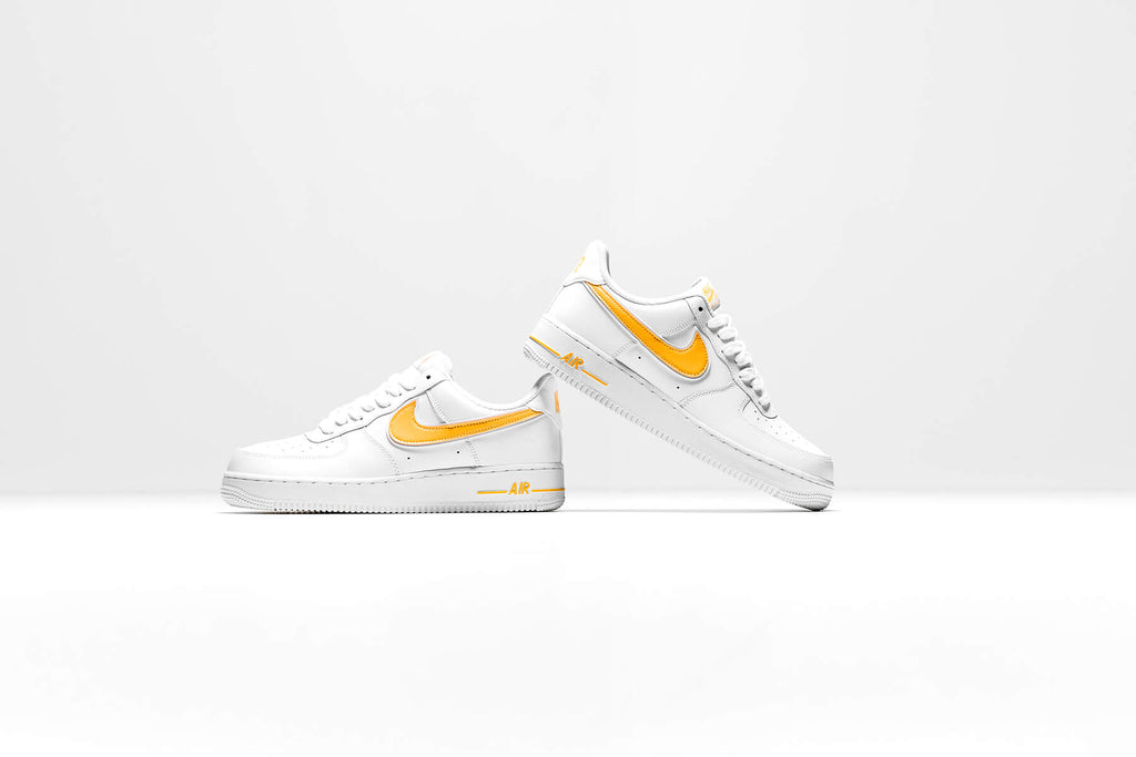 Available Now: Nike Air Force 1 '07 3 WhiteGold | Feature