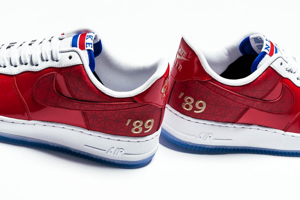 Nike Air Force 1 07 Lv8 University Red White Coming Soon Feature
