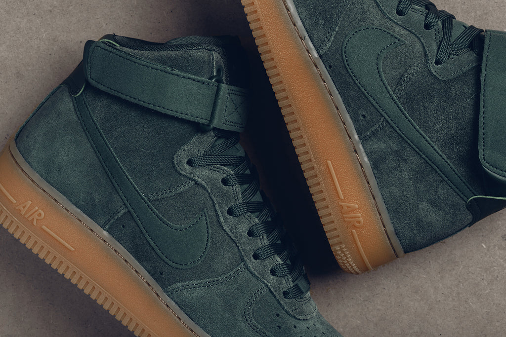 big sale 5a863 94155 Nike Air Force 1 High 07 LV8 Vintage Green Available Now