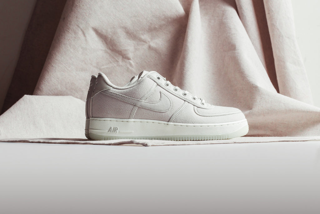 676f600fb7d7 Nike presents a pack of quick strike Air Force One Lows featuring the use  of canvas and a modern icy outsole ( 130). With the recent success of the  Air ...
