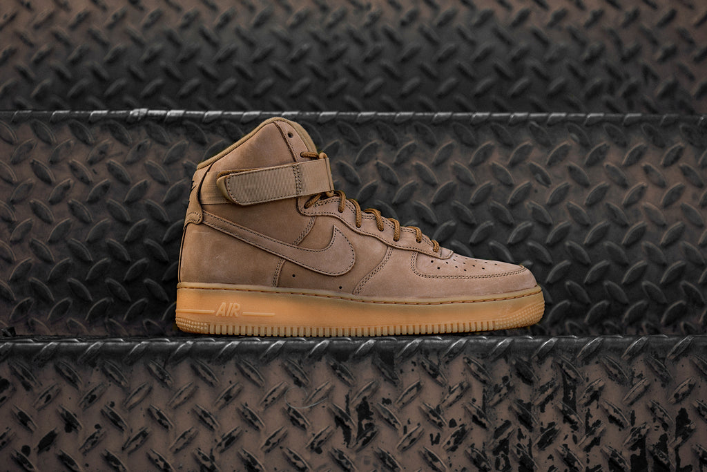 Nike Air Force 1 High  Wheat  Coming Soon – Feature Sneaker Boutique a1a21ba2e
