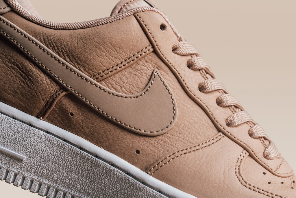 quality design afce8 cbdfb ... Nike is back with another Vachetta Tan rendition on the iconic Air  Force 1 Low ...