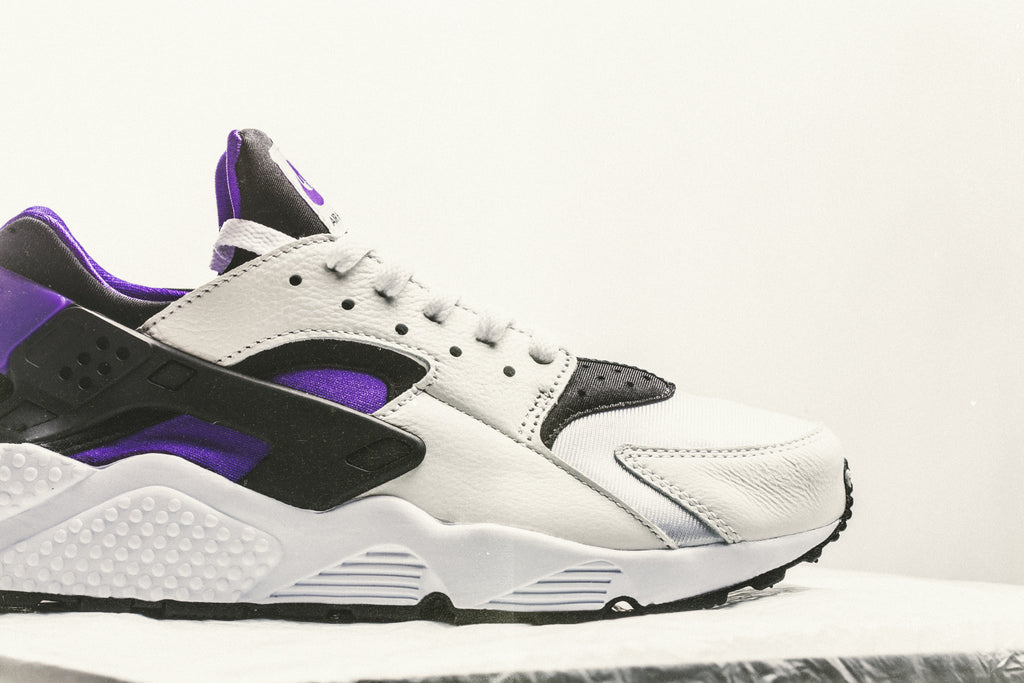 c3ee5a3c53a96 ... greece nike air huarache run 91 qs black purple punch coming soon  feature sneaker boutique e4edf