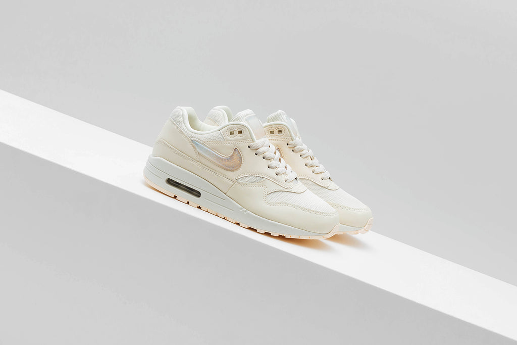 Nike brings us a light hued iteration of the classic Air Max 1 ( 120). Nike  continues to experiment with different branding techniques this time going  with ... 5fa8ecb8f4f
