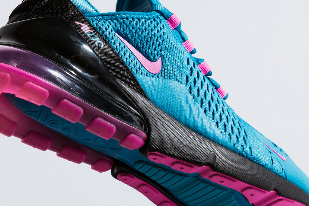 Nike Air Max 270 Light Blue Fury Laser Fuchsia Available Now