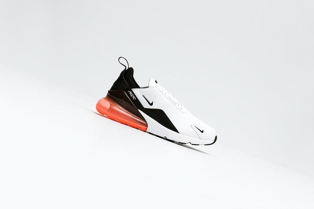 White and Red Nike Air Max 270 – Feature