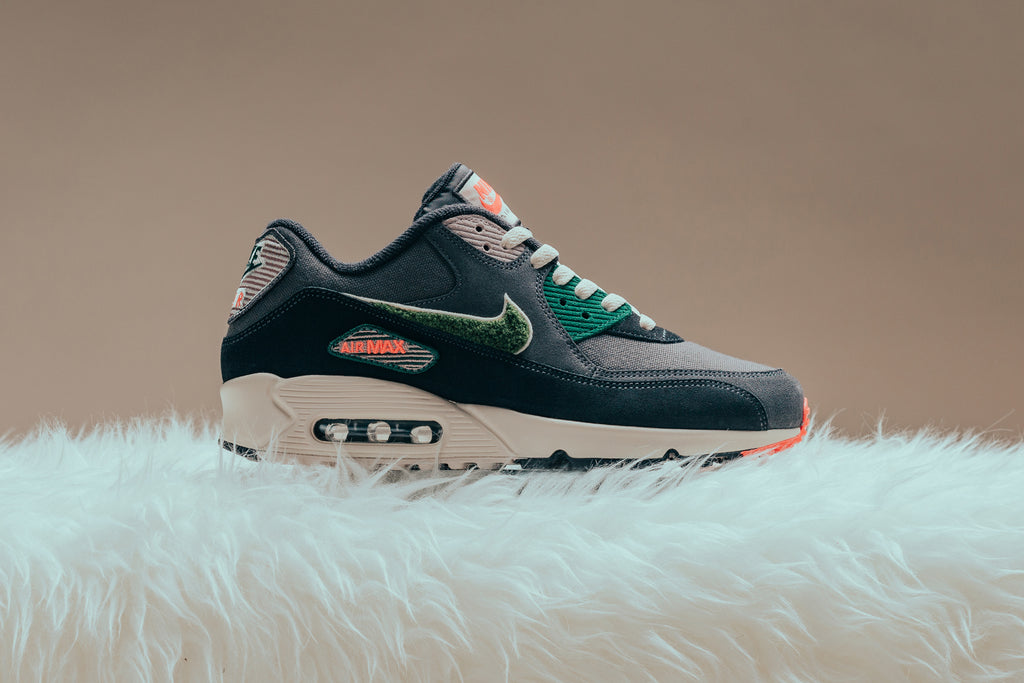 differently b7353 fc656 ... norway nike air max 90 95 premium se oil grey rainforest available now  feature sneaker boutique