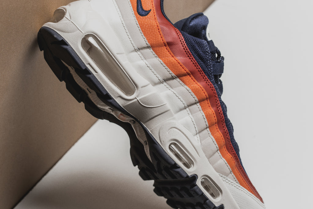 f861699a60 Nike gears up for spring with a new pair of Air Max 95s ($160). The latest  offering features a blend of earthy tones in Desert Sand/Vintage Coral  hues, ...