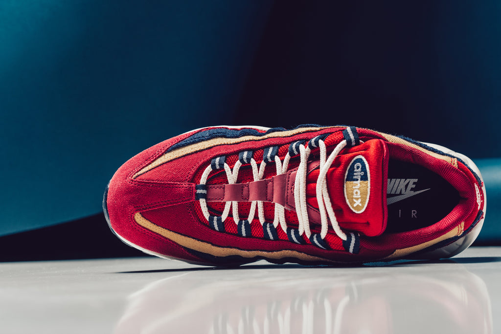 Nike Air Max 95 Red Suede