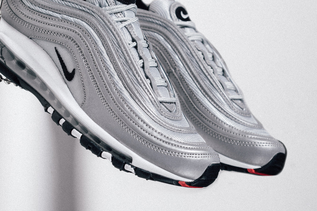Silver Nike Air Max 97 Feature