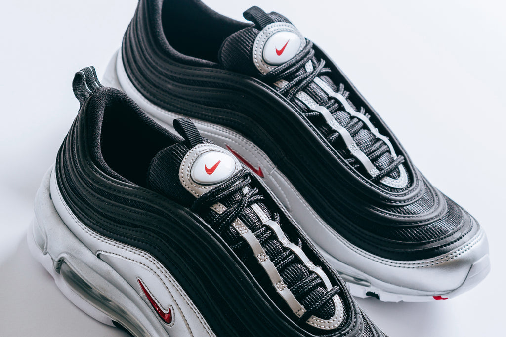 Nike Air Max 97 QS Collection </p>                     </div>   <!--bof Product URL --> <!--eof Product URL --> <!--bof Quantity Discounts table --> <!--eof Quantity Discounts table --> </div>                        </dd> <dt class=
