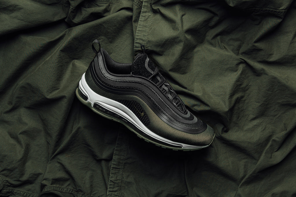 Nike Air Max 97 Ultra 17 HAL Black Olive shoes