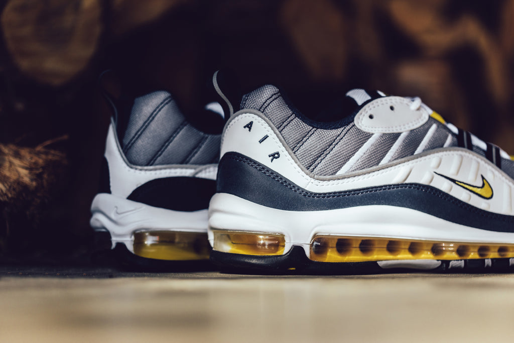Nike presents another OG Air Max color way on the recently unveiled Air Max  98 Retro silhouette ($160). First seen in 1998, the sneaker resembles it ...