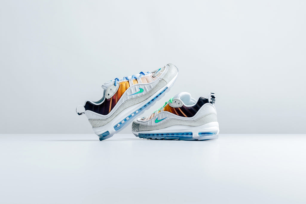 d583c06430 Nike partners with Queens native Gabrielle Serrano for a special rendition  of the classic Air Max 98, inspired by New York City ($200).