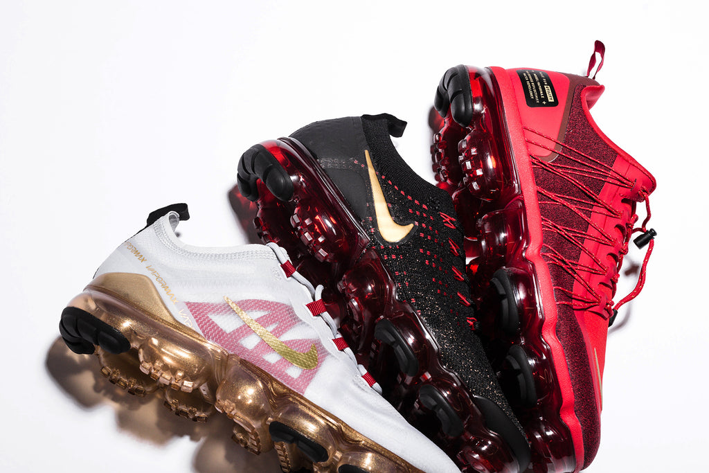 bb8c35834f2 Nike presents three different renditions of their signature VaporMax
