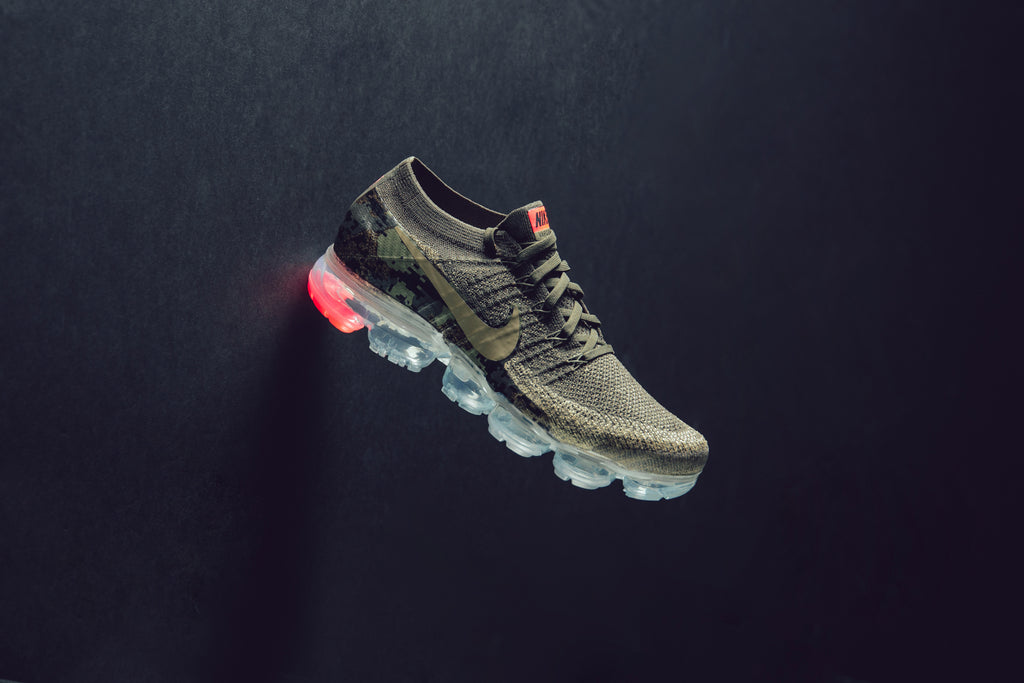 e51c53579d55 Nike presents a new neutral olive rendition to their Vapormax ( 190) for  the up and coming spring season. The runner is seen in a tonal olive color  way with ...