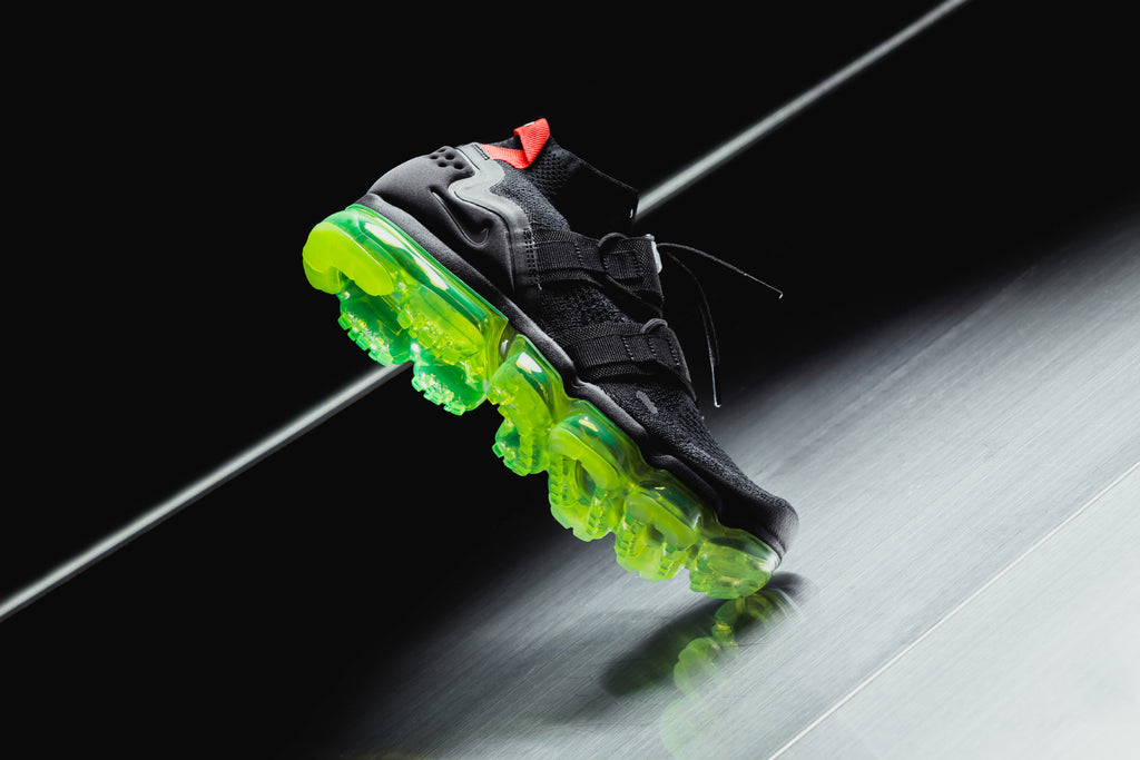 huge discount fa8af e236f Black Nike Air VaporMax Flyknit Utility – Feature