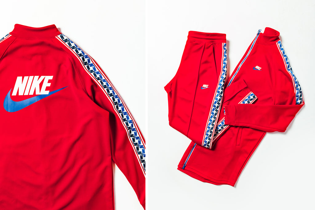 Nike Taped Tracksuits Available Now Feature Sneaker Boutique