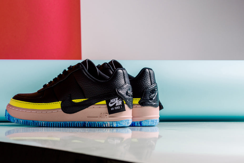 half off acf26 c6549 Nike s Air Force 1 Jester XX ( 110) is set to release this week in two  multicolored options for the ladies. Available in a