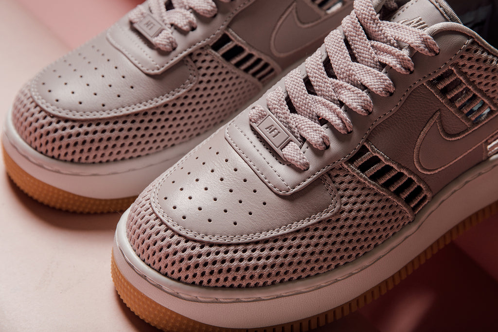 e23d51b9187661 Nike expands their women s line with another Air Force 1 Upstep