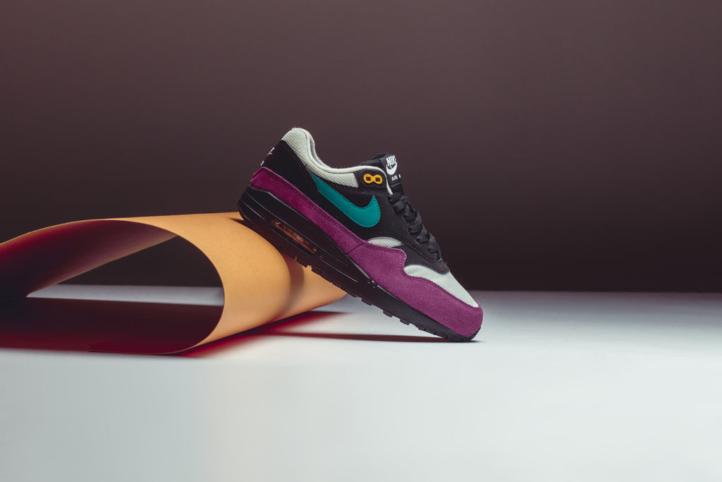 aa469112fe86a1 Nike Women s Geode Teal Air Max 1 – Feature Sneaker Boutique