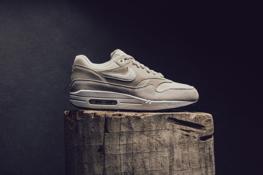 huge selection of fd0b8 0eaa3 Nike brings women a neutral hued color-way of it s classic Air Max One  ( 110). Introduced in 87  and still going strong, this shoe kicked off the  start of ...