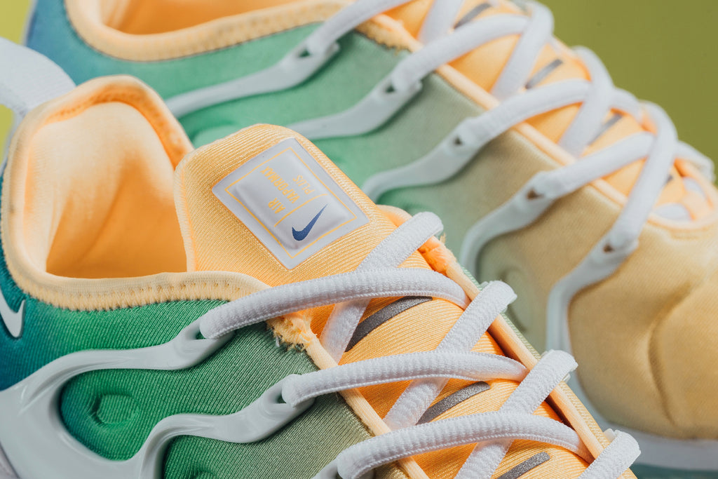 best sneakers 85f74 9aec7 The latest release showcases a spring-ready take on the women s Air  VaporMax Plus ( 180) in a