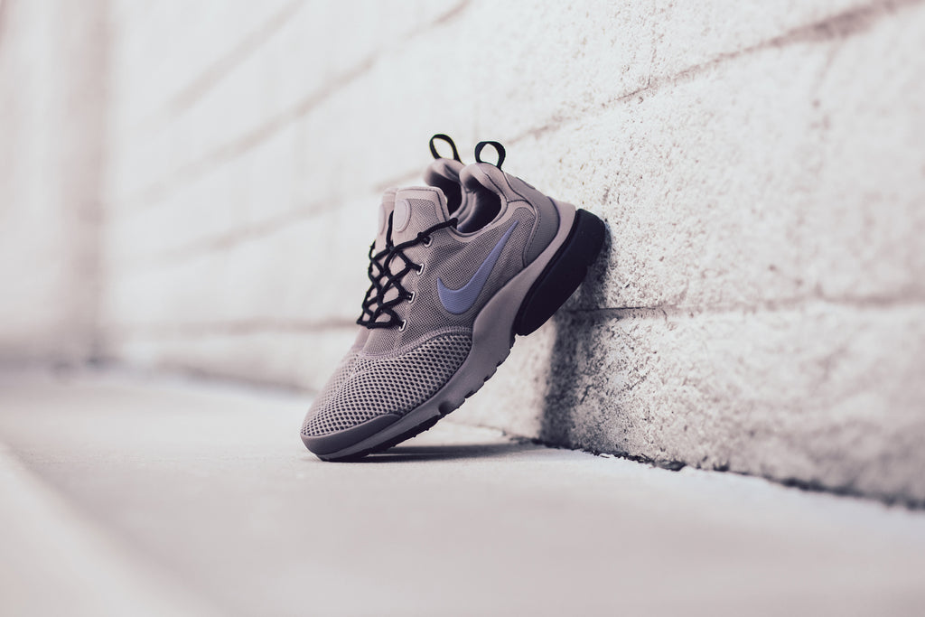 9162c380c847d Nike Women s Presto Fly In Taupe Grey Light Carbon Black Available Now