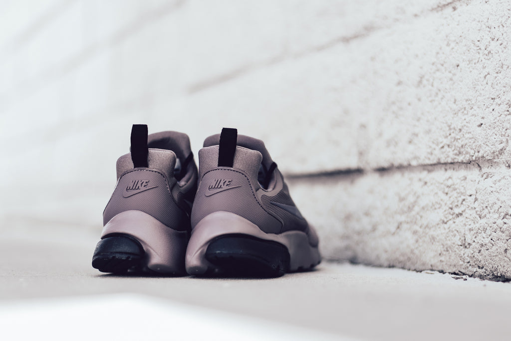 cheap for discount 5341e 3bb6c Nike Women s Presto Fly In Taupe Grey Light Carbon Black Available Now